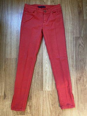 Zara Stoffhose in einem schönem rot in Gr S wie NEU