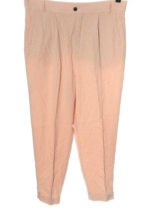 Zara Stoffhose pink Business-Look