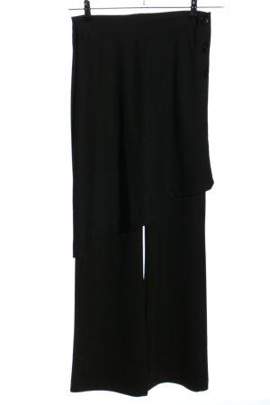 Zara Stoffhose schwarz Casual-Look