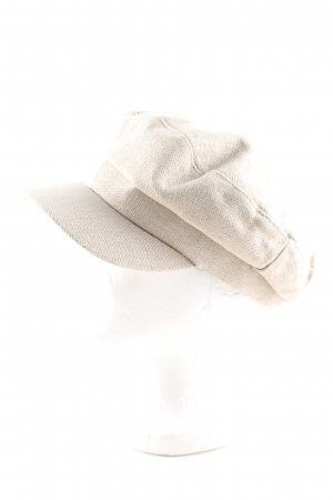 Zara Fabric Hat natural white casual look