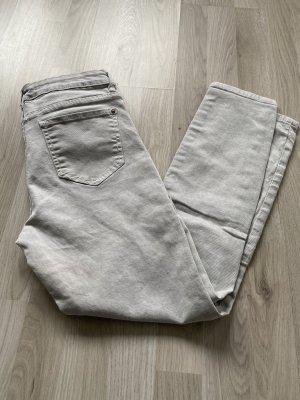 Zara stone grey Jeans 36 Sommer Used Look
