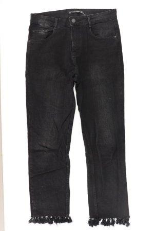Zara Straight Jeans Größe 36 schwarz aus Baumwolle