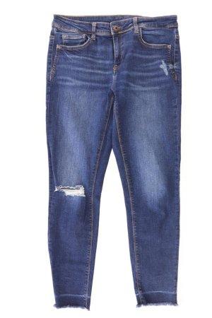 Zara Jeansy z prostymi nogawkami Bawełna