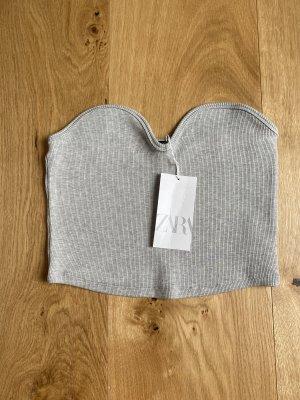 Zara strapless top L