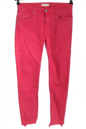 Zara Stretch Jeans pink casual look
