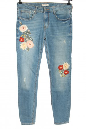 Zara Stretch Jeans blue casual look