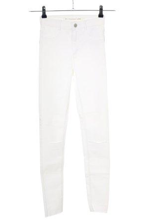 Zara Stretch Jeans weiß Casual-Look