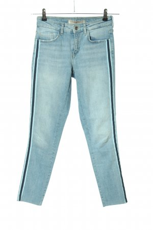 Zara Stretch Jeans blau Casual-Look