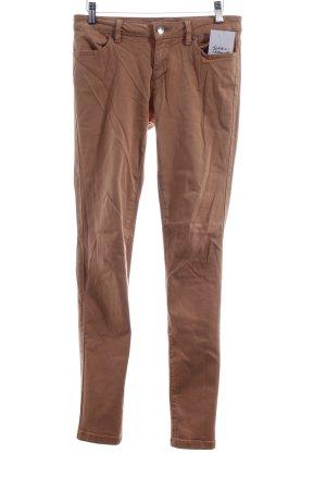 Zara Stretch Jeans apricot Street-Fashion-Look