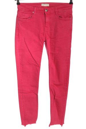 Zara Stretch Jeans pink Casual-Look