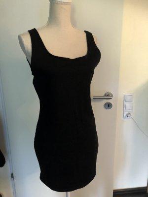 Zara Stretch Kleid schwarz mit Etikett L neu