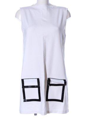 Zara Stretchkleid weiß Elegant