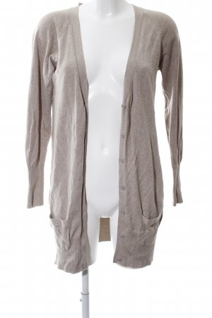 Zara Strick Cardigan wollweiß Casual-Look