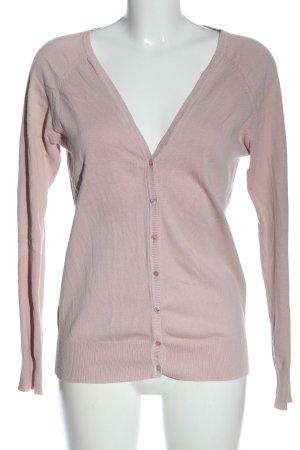 Zara Strick Cardigan pink Casual-Look