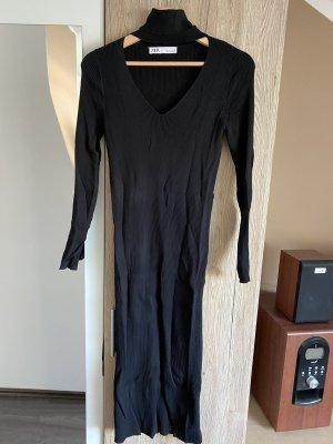 Zara Abito di maglia nero