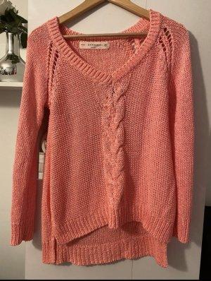 ZARA Strick Pullover M38 Pink