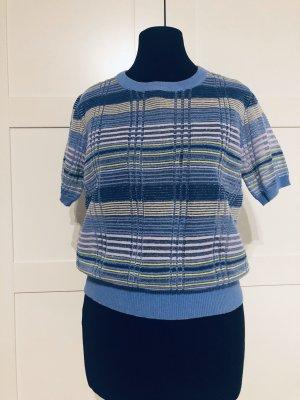 Zara T-shirt rayé multicolore