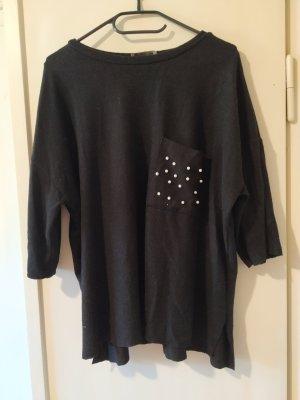 Zara Camicia maglia nero