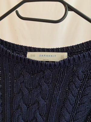 Zara Strick Top-Pullover