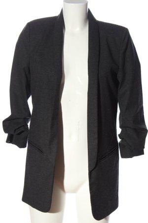 Zara Knitted Blazer light grey business style