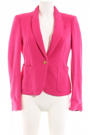 Zara Strickblazer pink Business-Look