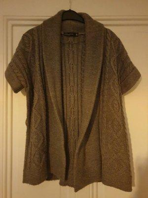 Zara Cardigan tricotés gris brun