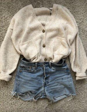 Zara Veste en tricot crème