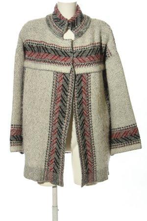 Zara Veste en tricot motif graphique style décontracté