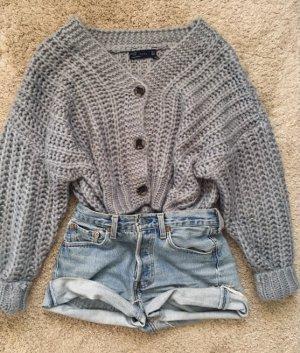 Zara Giacca in maglia grigio