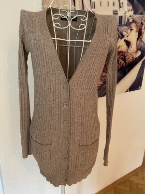 Zara, Strickjacke, Cotton, S, grau