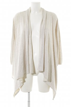 Zara Strickjacke creme Casual-Look