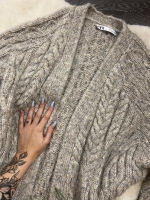 Zara Chaqueta de lana multicolor