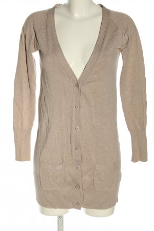 Zara Strickjacke pink meliert Casual-Look