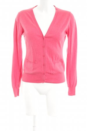 Zara Strickjacke pink Business-Look