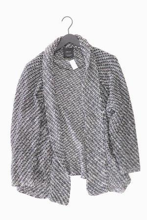Zara Strickjacke Größe M Langarm grau aus Polyacryl