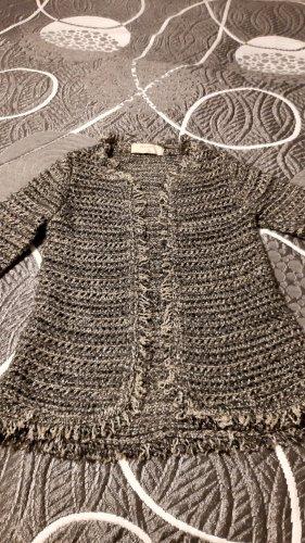 Zara Cardigan a maglia grossa multicolore