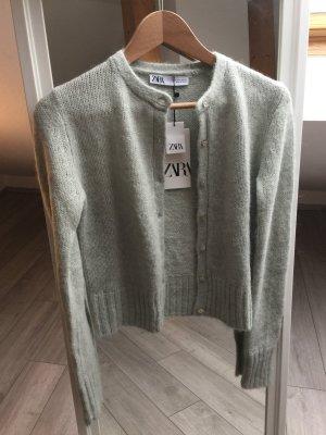 Zara Strickjacke mit Wolle S