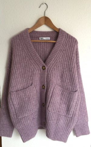 Zara Coarse Knitted Jacket multicolored