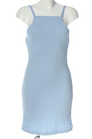 Zara Strickkleid blau Allover-Druck Casual-Look