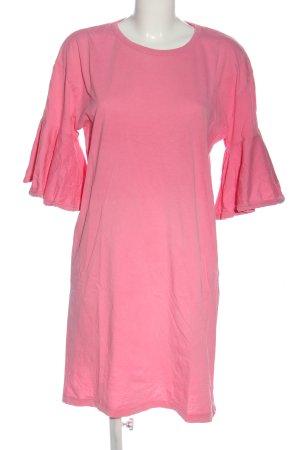 Zara Strickkleid pink Casual-Look