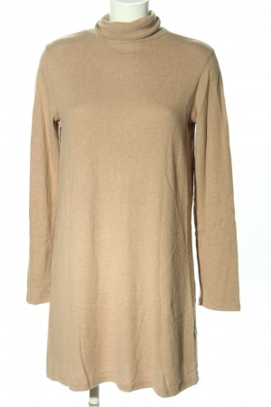 Zara Strickkleid creme meliert Casual-Look