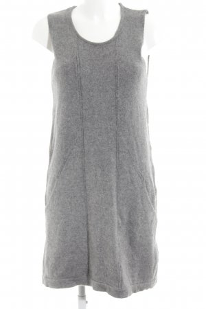 Zara Strickkleid grau Casual-Look