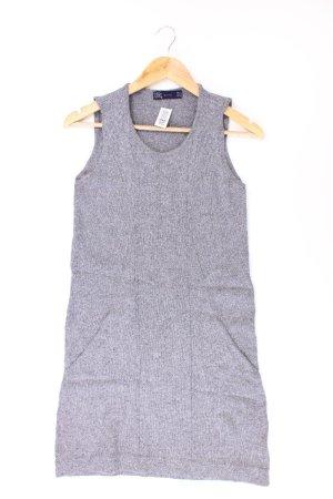Zara Strickkleid Größe S Ärmellos grau aus Baumwolle