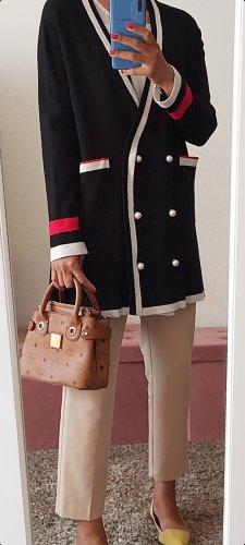Zara Manteau en tricot noir