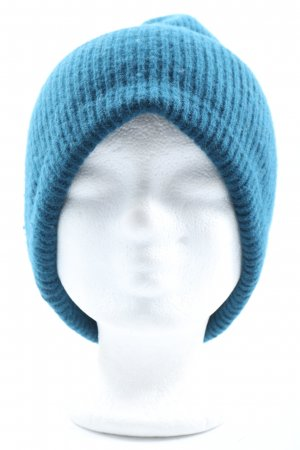 Zara Strickmütze blau Casual-Look