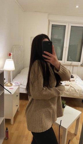 Zara Strickpullover beige