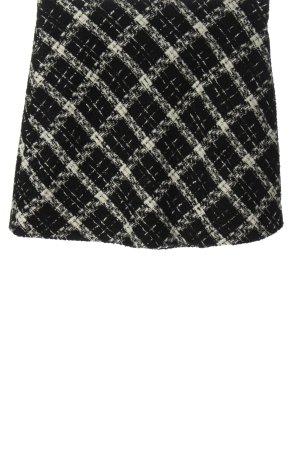 Zara Gebreide rok zwart-wit volledige print casual uitstraling