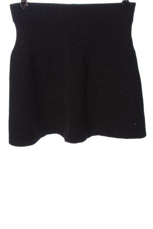 Zara Jupe tricotée noir style décontracté