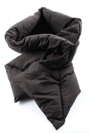 Zara Sciarpone nero stile casual