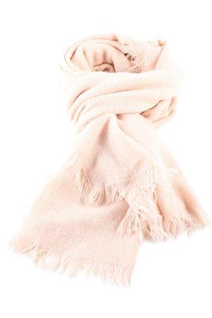 Zara Écharpe en tricot crème style décontracté